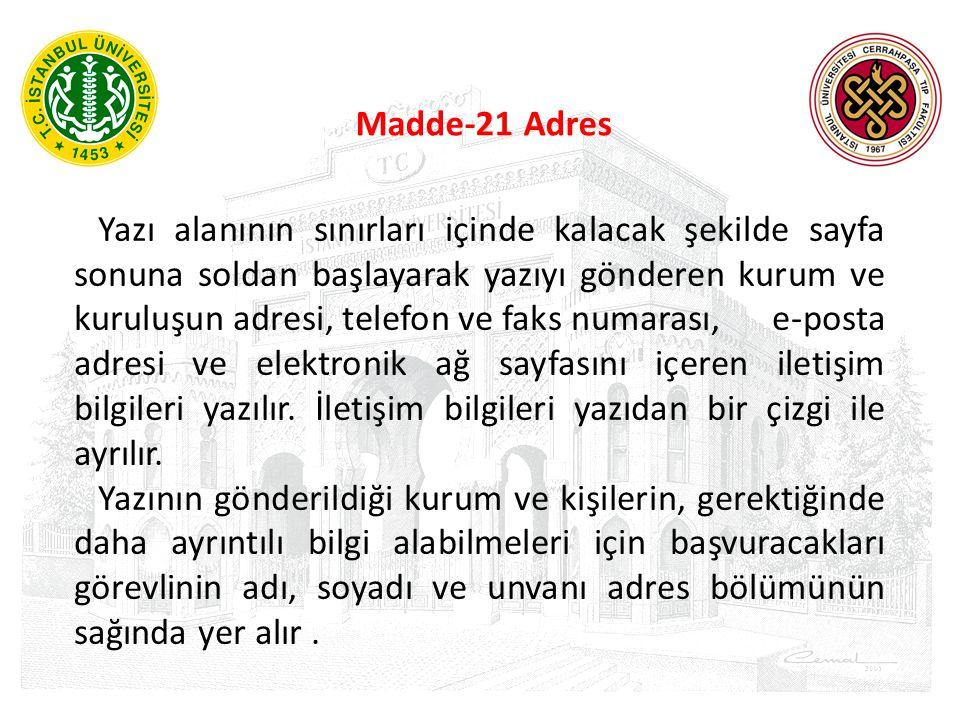 Madde-21 Adres
