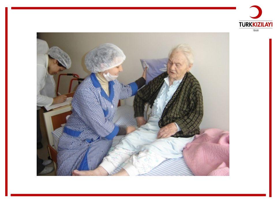 Bu da yaşlı bağışçıların bakım hizmeti verildiğini görüyoruz