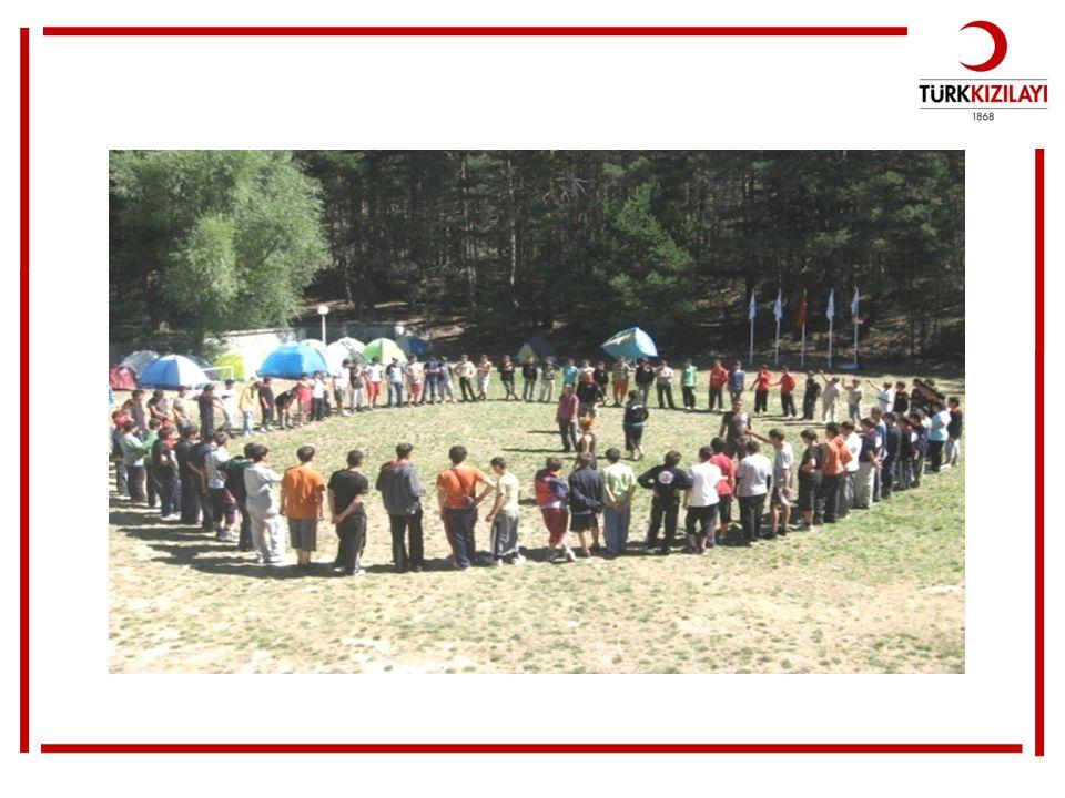 Gençlik kamplarında öğrenciler hem yeni arkadaş edinirler hem de eğlenerek bazı temel bilgileri öğrenirler.
