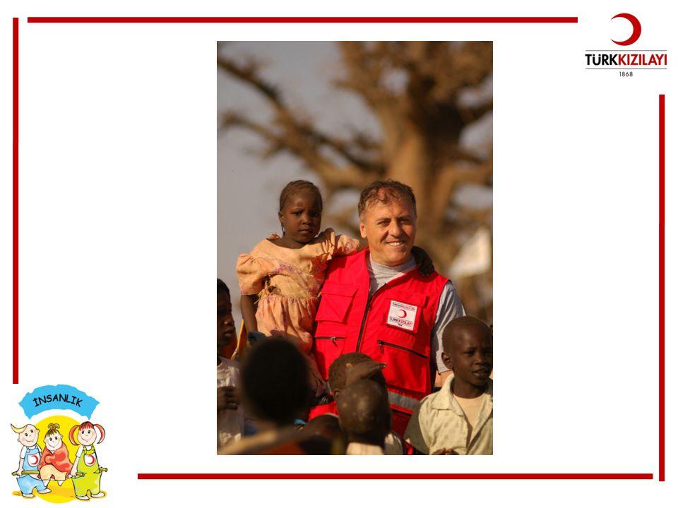 Her nerede olursa olsun yardıma ihtiyaç duyan herkese Kızılay yardım eder.