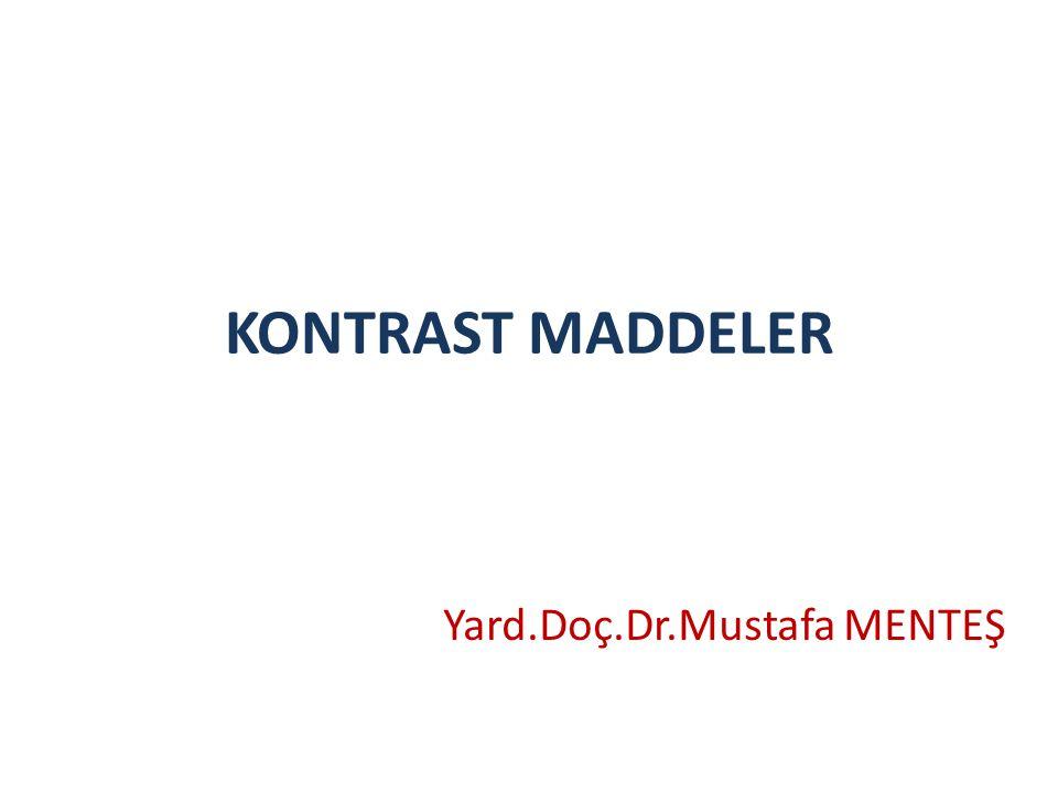 Yard.Doç.Dr.Mustafa MENTEŞ
