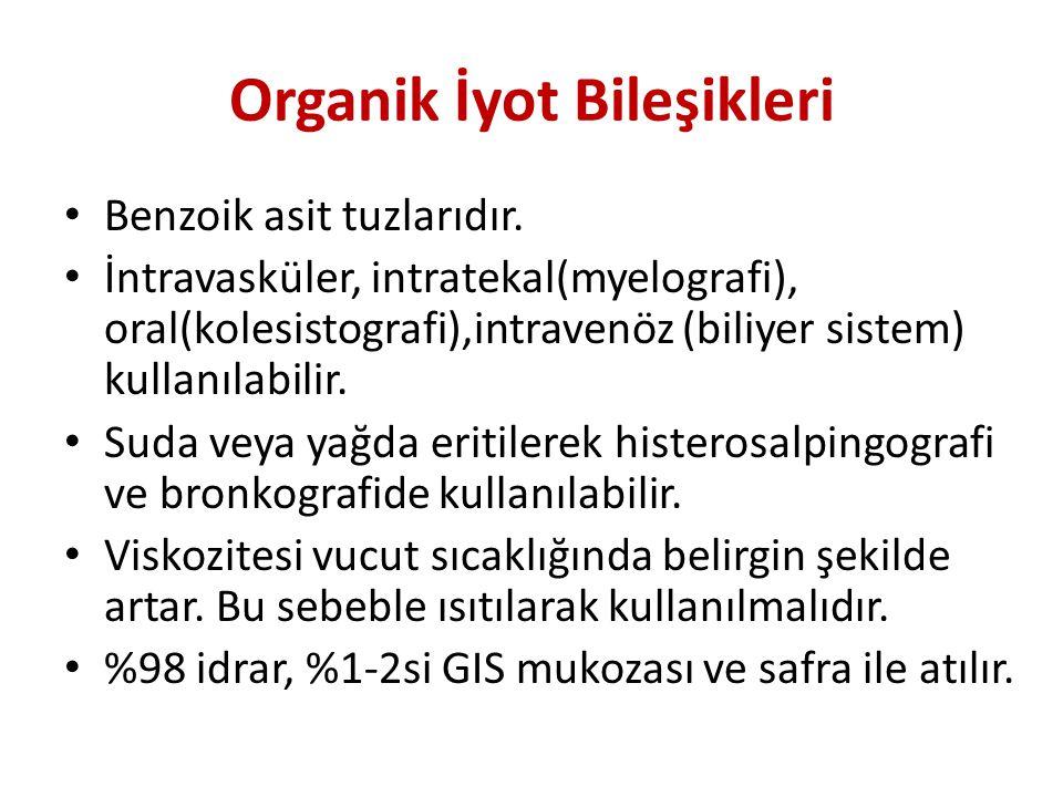Organik İyot Bileşikleri