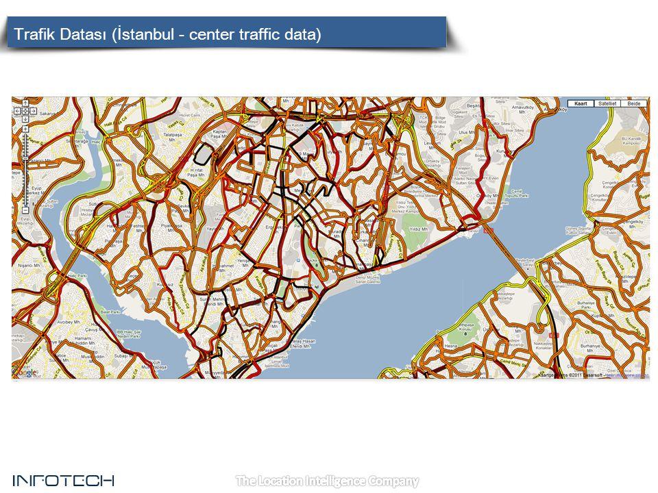 Trafik Datası (İstanbul - center traffic data)