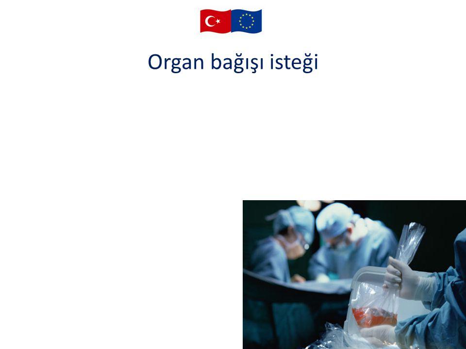 Organ bağışı isteği