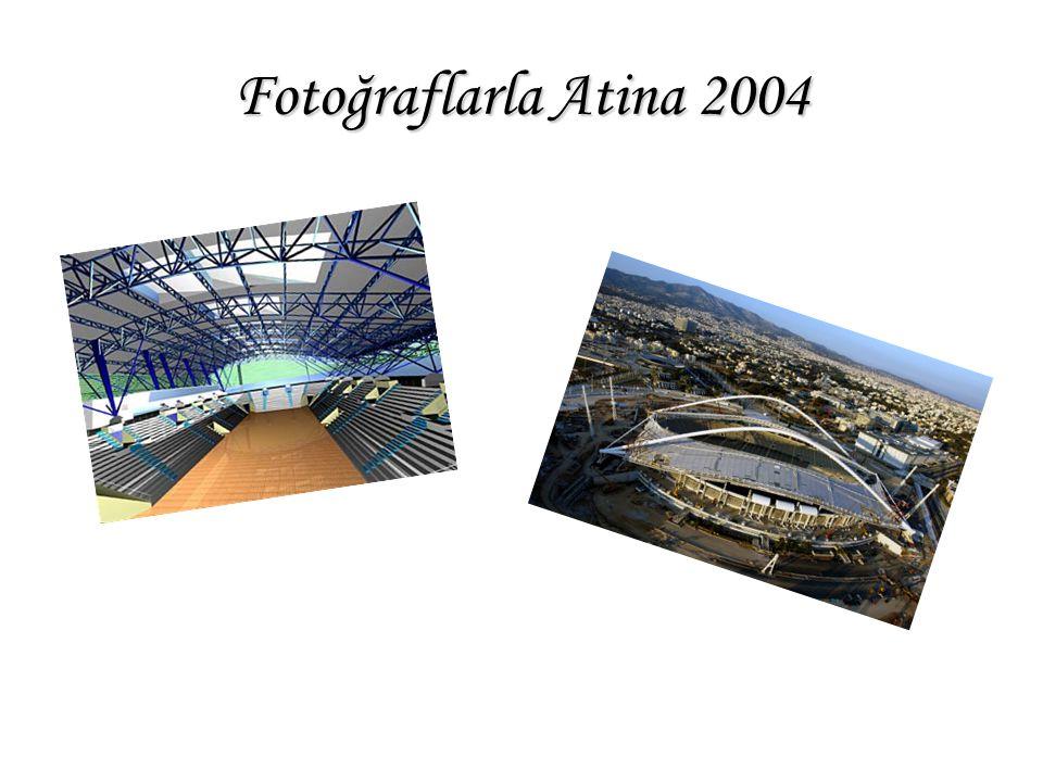 Fotoğraflarla Atina 2004