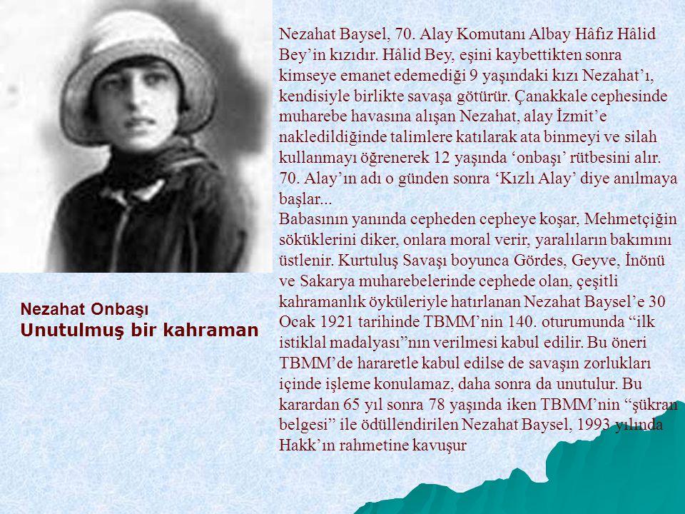 Nezahat Baysel, 70. Alay Komutanı Albay Hâfız Hâlid Bey'in kızıdır