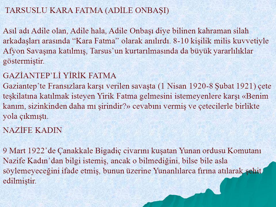 GAZİANTEP'Lİ YİRİK FATMA