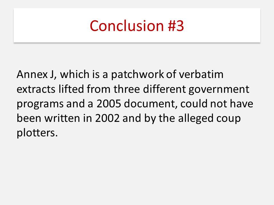 Conclusion #3