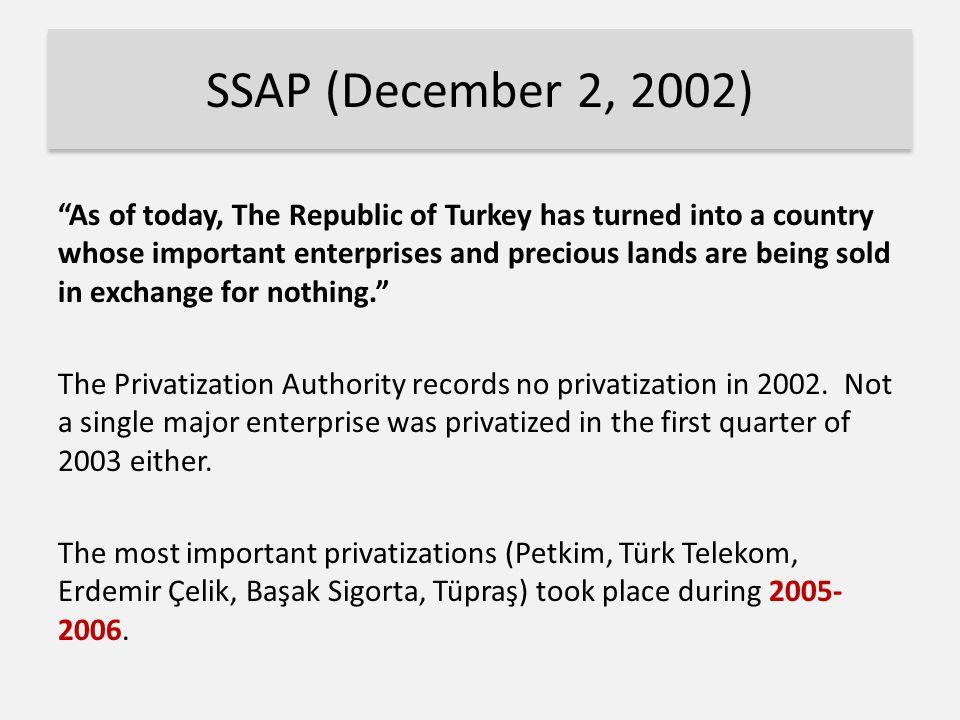 SSAP (December 2, 2002)