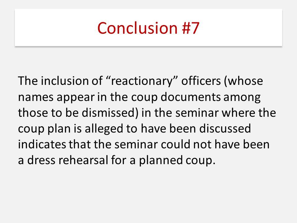 Conclusion #7