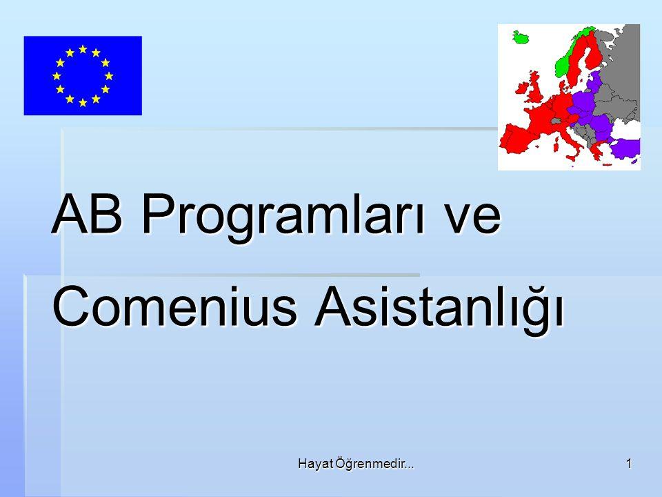 AB Programları ve Comenius Asistanlığı