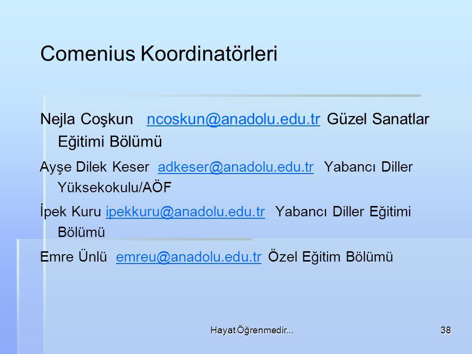 Comenius Koordinatörleri