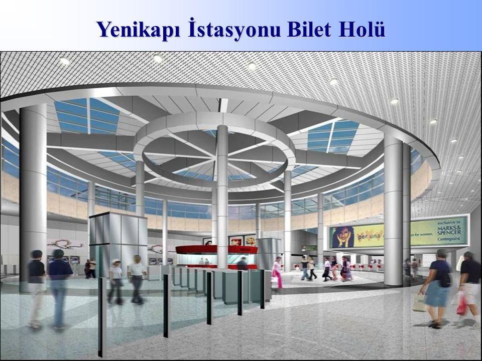 Yenikapı İstasyonu Bilet Holü