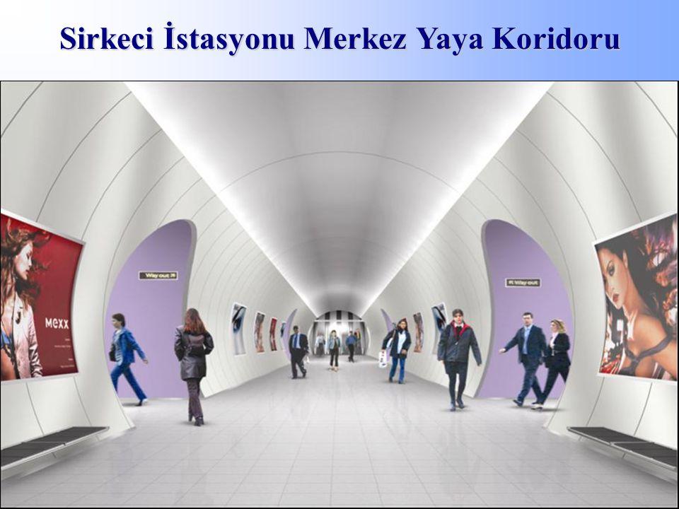 Sirkeci İstasyonu Merkez Yaya Koridoru