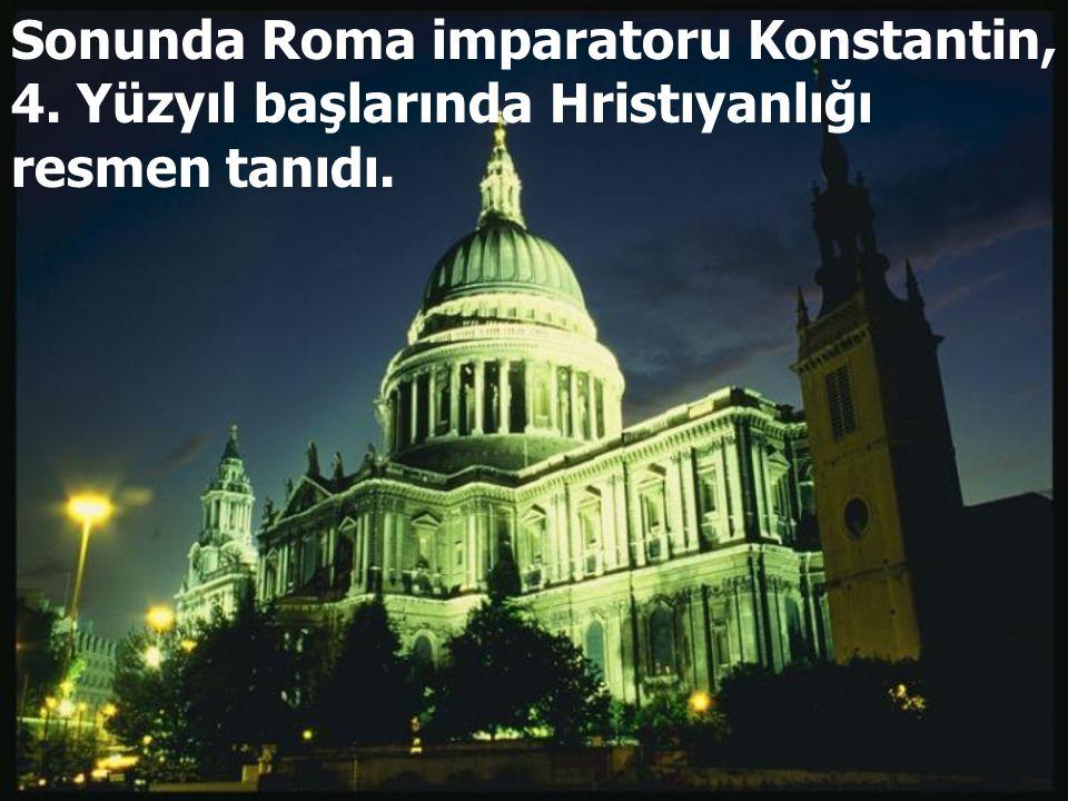 Sonunda Roma imparatoru Konstantin, 4