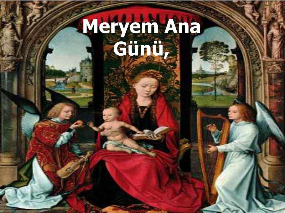 Meryem Ana Günü,