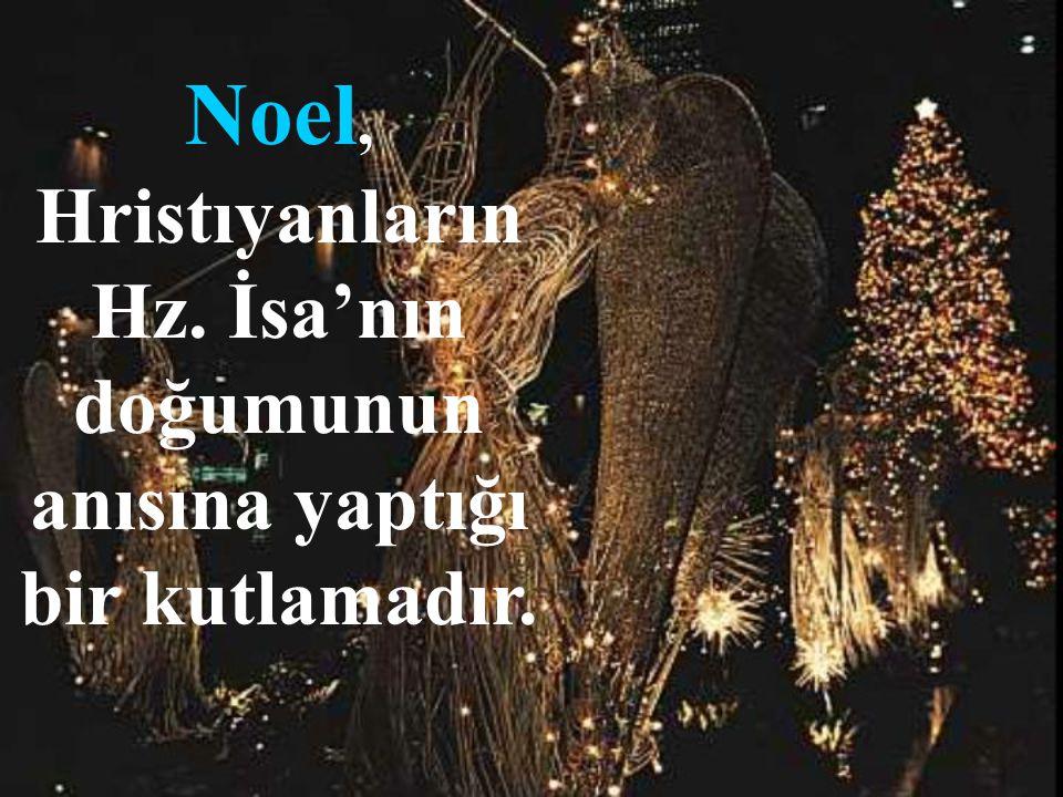 Noel, Hristıyanların Hz