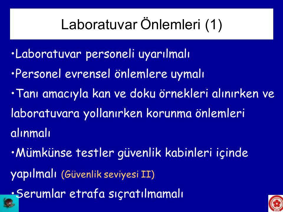 Laboratuvar Önlemleri (1)