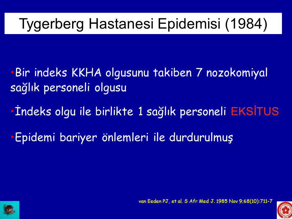 Tygerberg Hastanesi Epidemisi (1984)