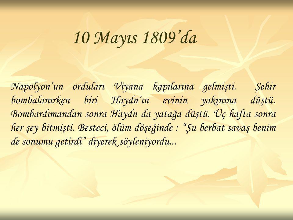10 Mayıs 1809'da