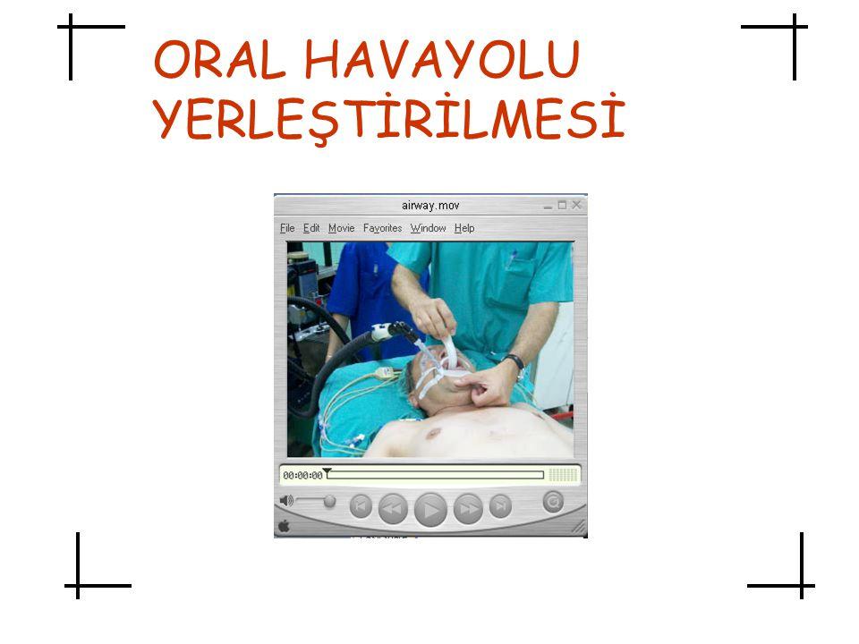 ORAL HAVAYOLU YERLEŞTİRİLMESİ