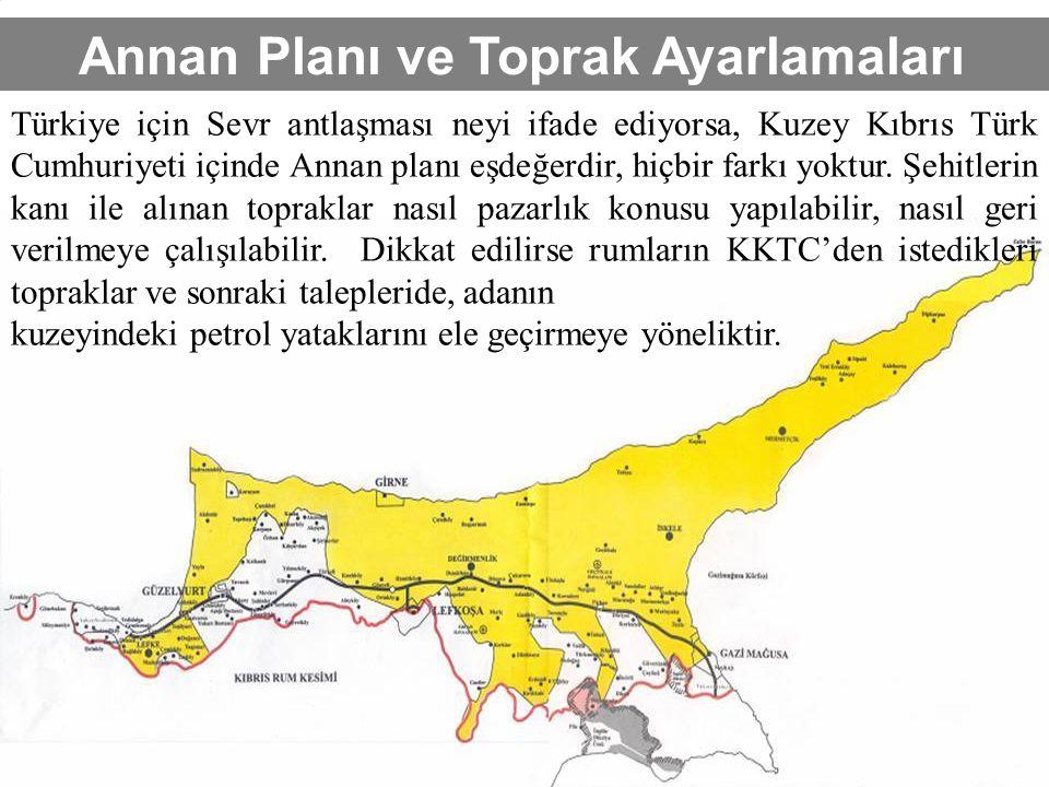 Annan Planı ve Toprak Ayarlamaları