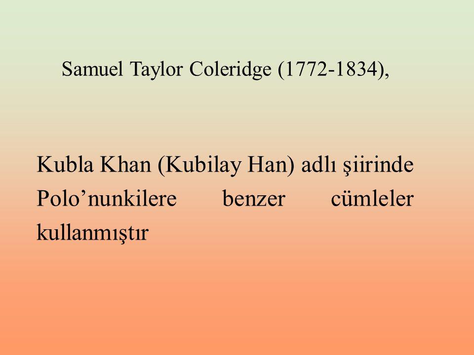 Samuel Taylor Coleridge (1772-1834),