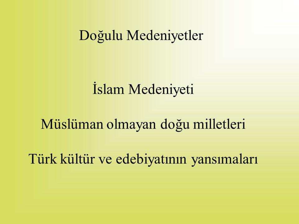 Müslüman olmayan doğu milletleri