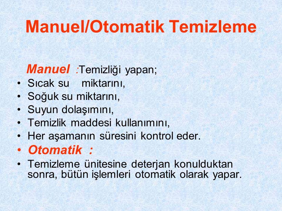 Manuel/Otomatik Temizleme