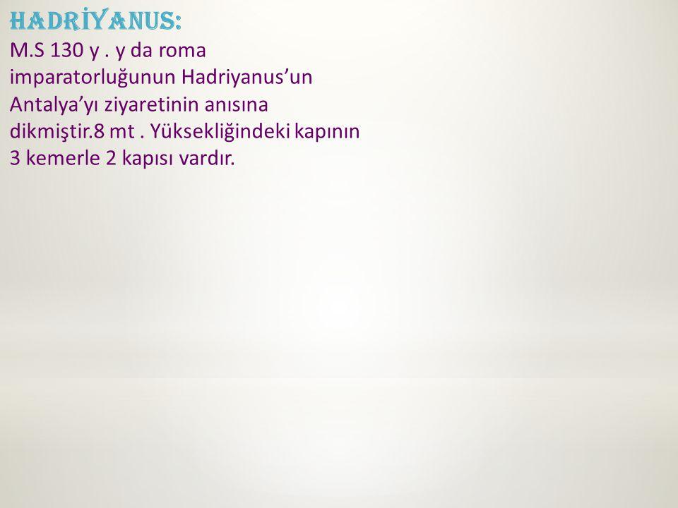 HADRİYANUS: