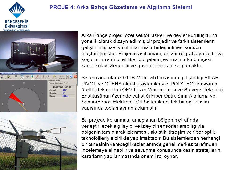 PROJE 4: Arka Bahçe Gözetleme ve Algılama Sistemi