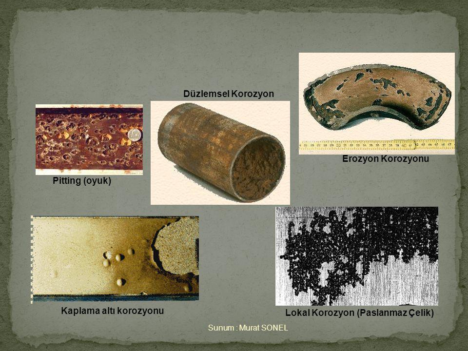 Kaplama altı korozyonu Lokal Korozyon (Paslanmaz Çelik)