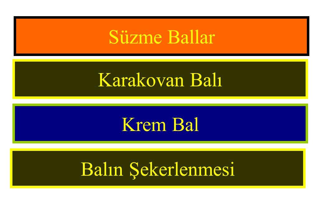 Süzme Ballar Karakovan Balı Krem Bal Balın Şekerlenmesi