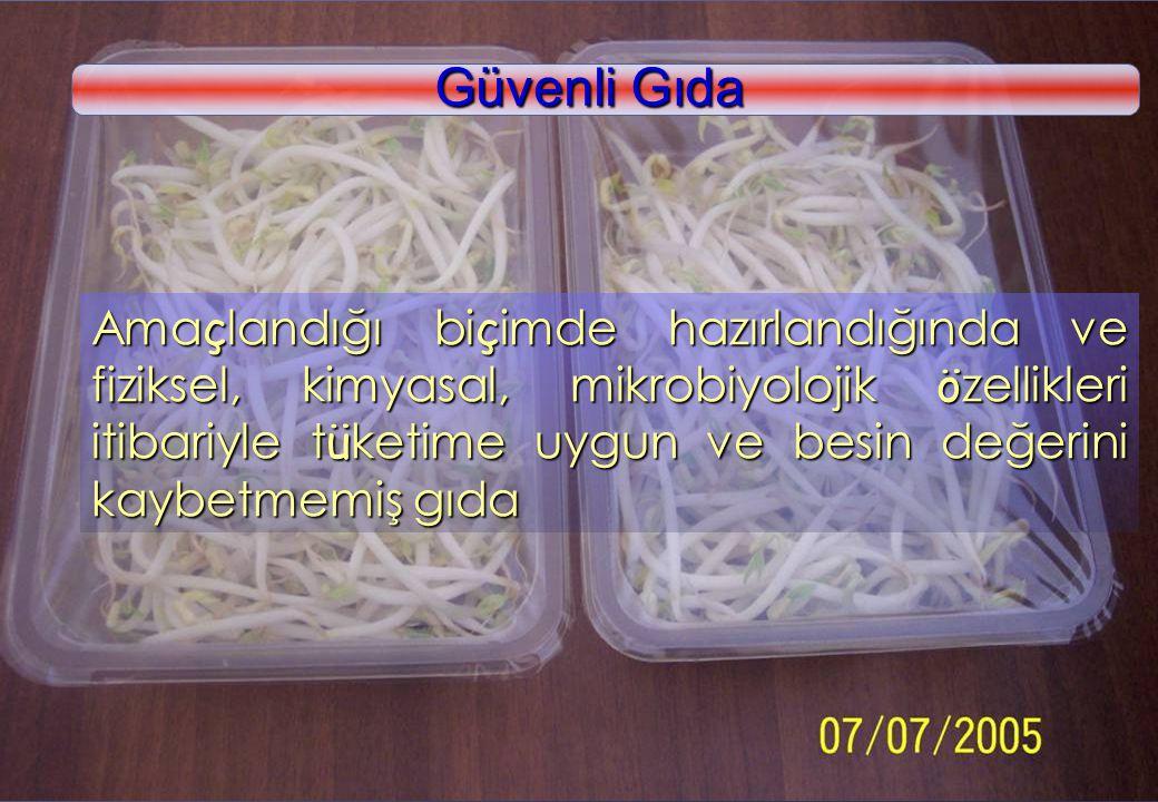 Güvenli Gıda