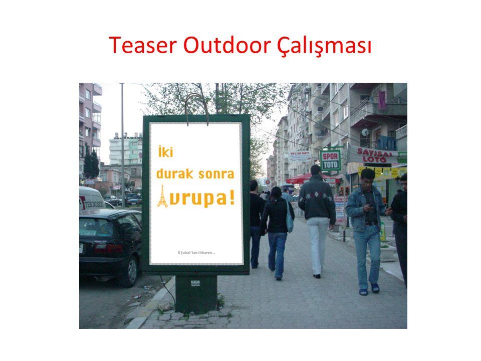 Teaser Outdoor Çalışması