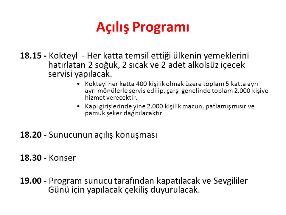 Açılış Programı
