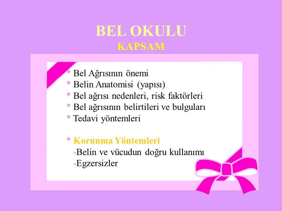 BEL OKULU KAPSAM