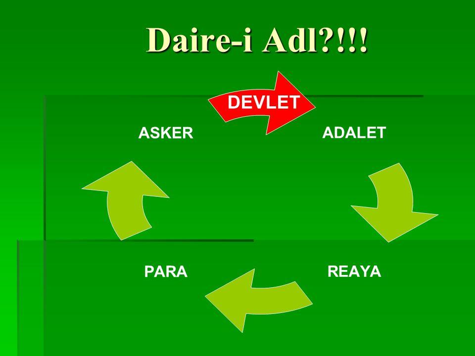 Daire-i Adl !!! DEVLET