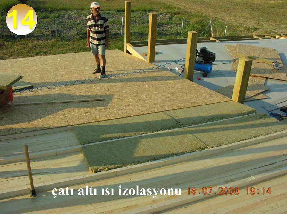 14 çatı altı ısı izolasyonu