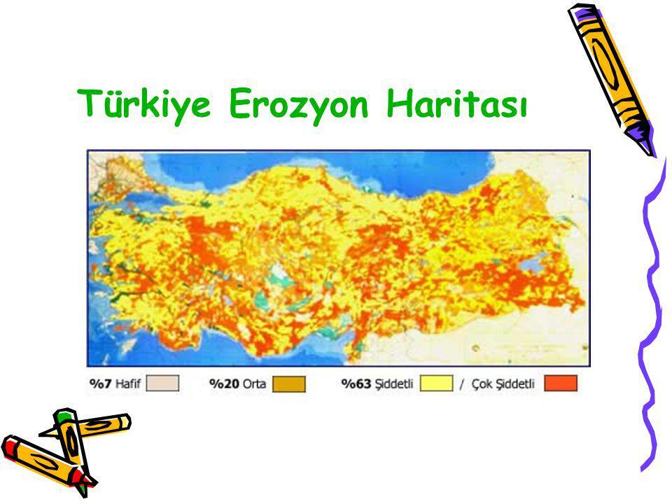 Türkiye Erozyon Haritası
