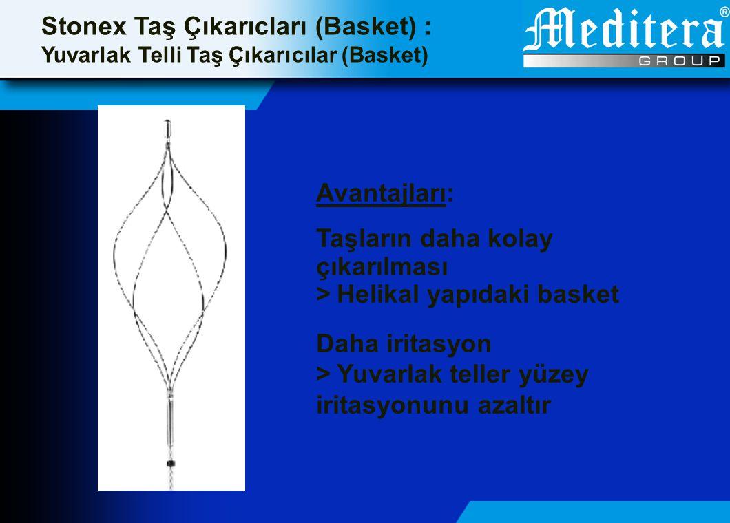 Stonex Taş Çıkarıcları (Basket) :