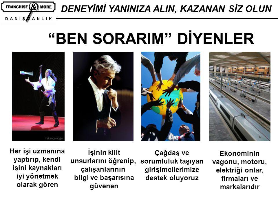 BEN SORARIM DİYENLER