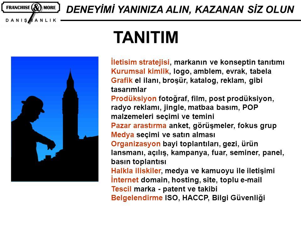 TANITIM DENEYİMİ YANINIZA ALIN, KAZANAN SİZ OLUN