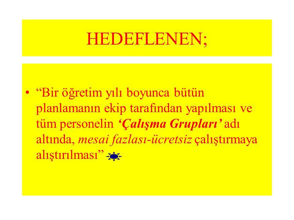 HEDEFLENEN;
