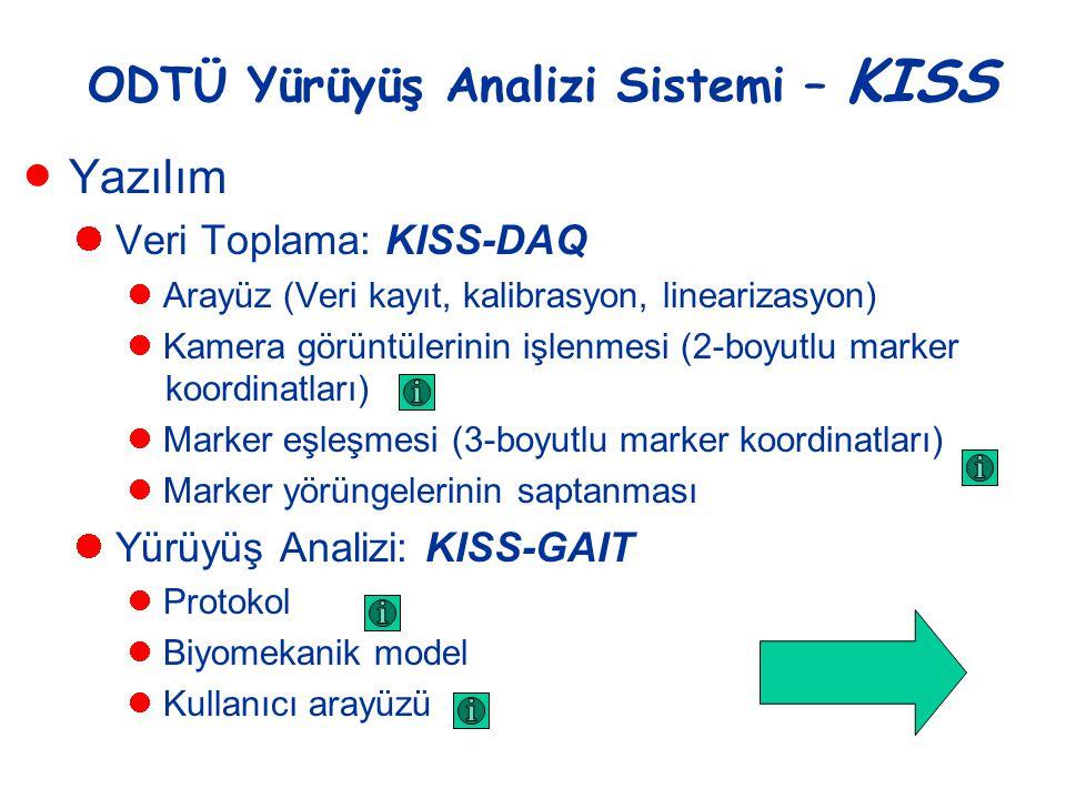 ODTÜ Yürüyüş Analizi Sistemi – KISS