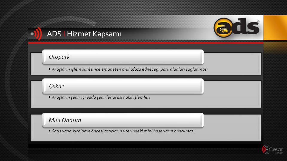 ADS I Hizmet Kapsamı Otopark Çekici Mini Onarım