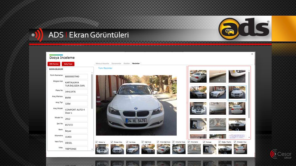 ADS I Ekran Görüntüleri