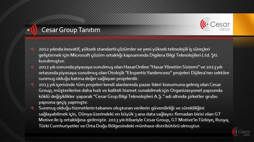 Cesar Group Tanıtım