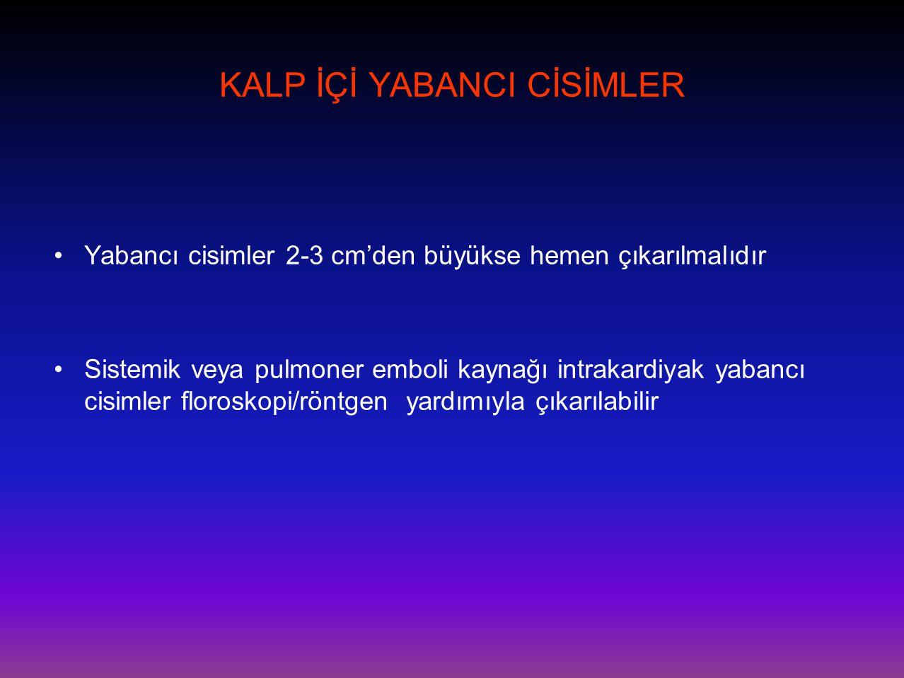 KALP İÇİ YABANCI CİSİMLER