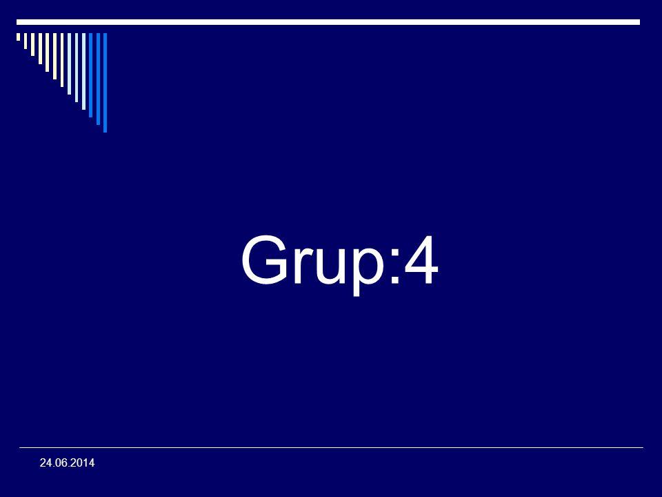 Grup:4 03.04.2017